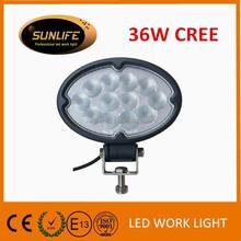 IP68 waterproof led work light 7''35W 2500lm led worklight