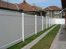 ASTM Certified & Lifetime Warranty 100% New White / Grey / Brown PVC Privacy Fence /Fence Privacy Screen ,valla de estacas