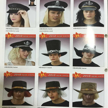 TK-010YIwu Caddy COS the pirate wigs captain hook wig pirates of the Caribbean pirate jack wig hat