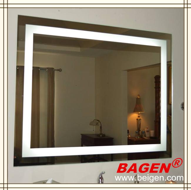 Cuarto de ba o moderno espejo con luz led bgl 008 - Espejos para cuarto de bano ...