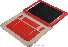 hot sales For ipad leather case 360 degree rotating function suitable for ipad