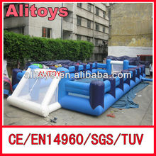 2013 hot sale inflatable human table football games for sale human table football
