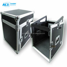 Hot!!flight case with 2 doors /kindle fire proof case/amp rack road cases hardware
