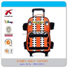 cool carshape trolley backpack school trolley bag for boys