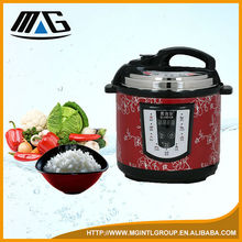 RED multifunction PRESSURE rice cooker 5L computer type