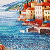 JY-JH-SS07 design of mural paintings mosaic wall mural artist landscape wall murals