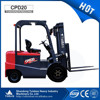 CPD20 2.0 ton Energy saving machine, battery type easy operated electric forklift truck for sale