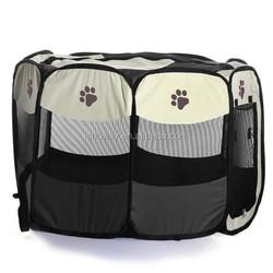 Portable Pet Playpen Puppy Dog Cat Soft Tent Cage Crate Panel Fence Enclosure