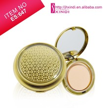 2 In 1 Cream Foundation Face Powder Natural Concealer Nude Make Up Cosmetics Powder foundation
