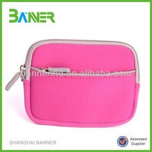 Promotional waterproof neoprene handbag wallet custom purse