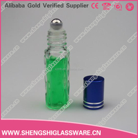 5ml small clear deodorant design roll on bottle manufacturer/roll-on perfume bottle