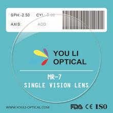 1.67 MR-7 Single Vision Lens