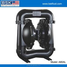 "3"" santonprene wear resistance diaphragm with gravity ball for ceramic slurry liquid AODD pumps"