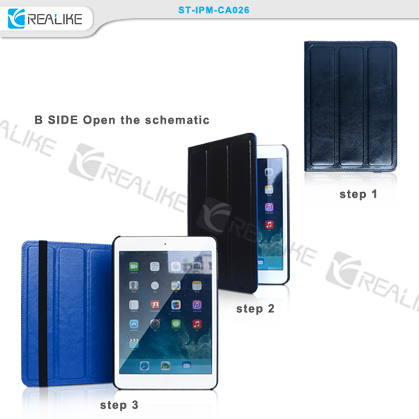 universal leather case,7inch tablet case both sides can be used,new design case