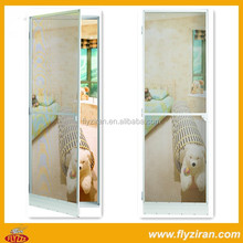 Sliding door with insect screen