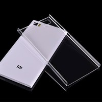 Ultra Slim Crystal Clear Hard Back Cover Case for Xiaomi mi3