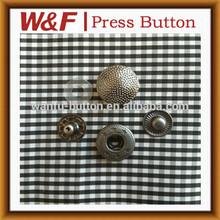 Cuatro piezas de botón a presión, botón de la moda