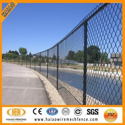 Alibaba wholesale used chain link fence for sale factory