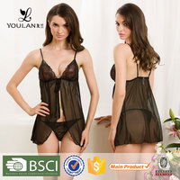 XL,L,M,S Fitness Hot Lady Satin Low Cost Chinese Style sexy bedroom night wear