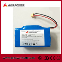 Rechargeable 18650 10S2P 36v 4.4ah li ion battery pack for two wheel smart balance electric scooter