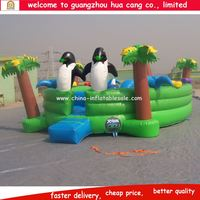 Giant inflatable structure/kids commercial bouncy playground