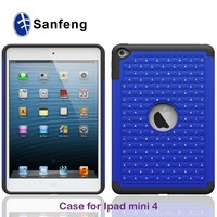 Hand phone shockproof case for ipad,for ipad min/2/3/4 cover,for ipad mini 4 case