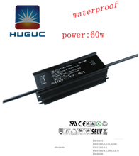 60W waterproof 78v 900ma traic dimming led driver with ip67