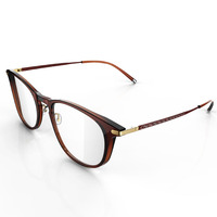 latest optical frames glasses made in italy metal spectacle frame