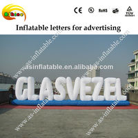 super quality inflatable letters advertising inflatable model