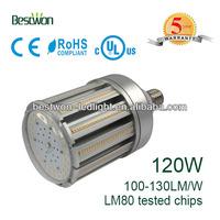 120w 12600lm 360 degree UL avaliable e40 led lys