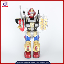 New generation BO flash robot toys with missile and sound