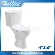 Hot sale Chaozhou ceramic Siphonic Two piece toilet sink combination