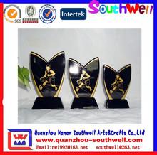 new style custom ceramic basketball trophy award cup decoration
