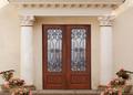 porta de tela porta de tela de ferro forjado D-8027