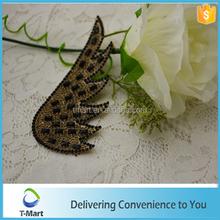 wing design rhinestone sheet for handbag wholesales high quality