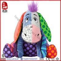 Animal Toy Type ICTI SEDEX Soft Plush Stuffed Donkey Baby Toy