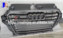 high quality new A3 S3 front bumper mesh grille,for audi a3 auto body parts