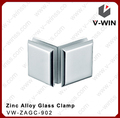 Stardard 90 cônicas grau forma chuveiro vidro clip& conector de vidro