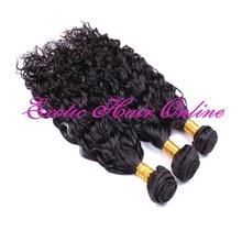 Exotichair ponytail hair bands pre braided hair weft
