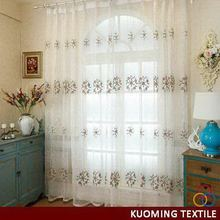 2015 Best-Selling embroidery window curtain patterns
