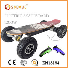 Powered skateboard suppliers Brushless Motor Electric skateboard for sale