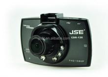 Hot-sale HD 1080P Night Vision Car dvr Camera , dashboard camera , H.264 manual black box for car