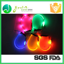 Hot sale popular custom LED pet dog collar, flashing pet collar for sale