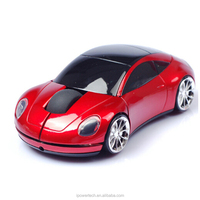 Promotion gift 2.4Ghz USB car mouse wireless