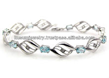 .925 Sterling Silver Jewelry Bracelet Earring Necklace Jewellery wholesale