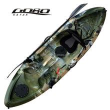 colourful single sit on top fishing kayak