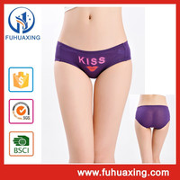 open hot sexy girl photo ow waist printing panty models underwear