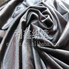 Spandex Plain Dyed Polyester velour Velvet fabric