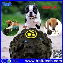 Trait Company High Quality Plastic Pet Dog Noice Making Food Feeding /Toy Ball