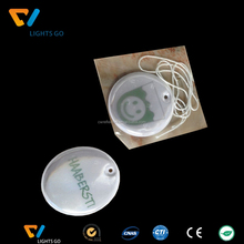 China Wholesale Reflective Glow in the Dark PVC Key Chain for Gift Promotion